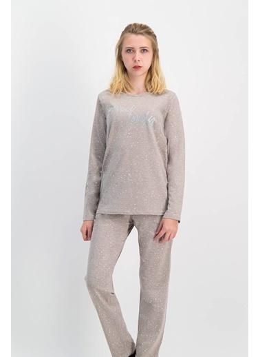 Arnetta Arnetta Puantiyeli Kadın Pijama Takımı Renkli